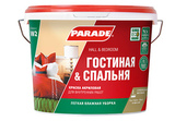 Краска акриловая PARADE W2 Гостиная & Спальня Белая матовая Россия