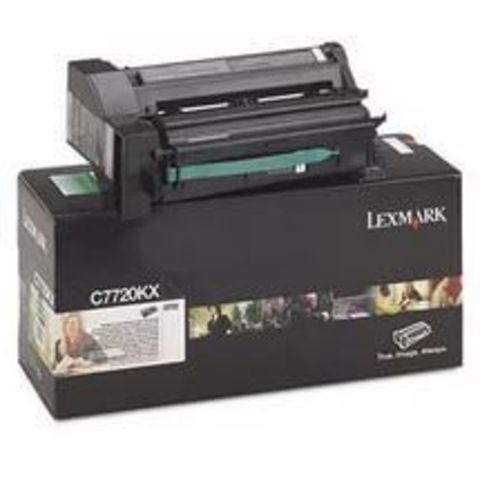 Картридж для принтеров Lexmark С772 черный (black). Ресурс 15000 стр (C7720KX)