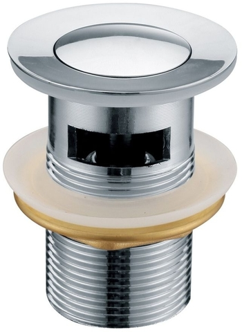 Донный клапан для раковины KАISER 8035 автомат, металл