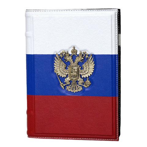 Ежедневник клжаный А5 «Флаг» А80505
