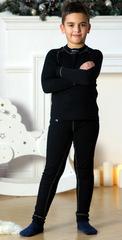 Детский комплект термобелья Nordski Warm Junior Black