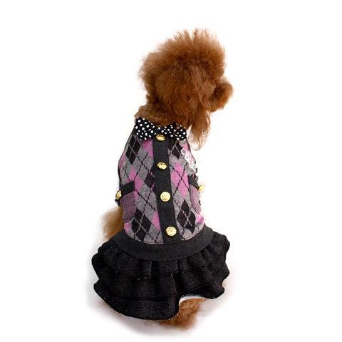 054 W - Платье для собак