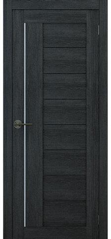 Дверь APOLLO DOORS F1, стекло матовое, цвет дуб серый, остекленная