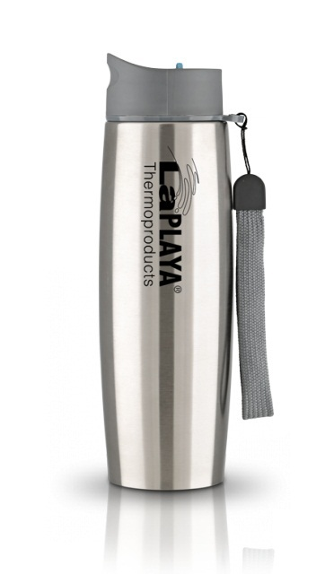 Термокружка La Playa Thermo Mug SS Strap (0,5 литра) серебристая