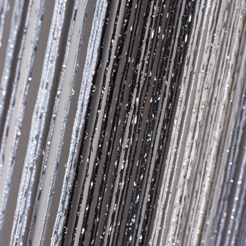 Шторы радуга дождь - Белые, серые, черные. Ш-300см., В-280см. Арт. 1-7-9