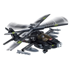 Конструктор серия Армия Вертолет огневой поддержки Апач