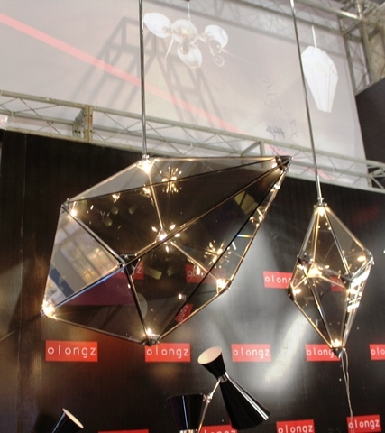 replica ROLL & HILL Maxhedron suspension lamp 02
