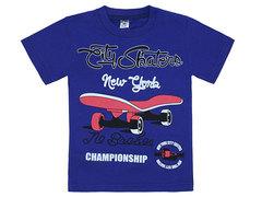 19065-43 футболка детская, темно-синяя