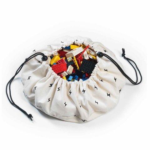 Коврик для игрушек + мешок (2 в 1) Play&Go Mini МОЛНИЯ 79979/Play&Go