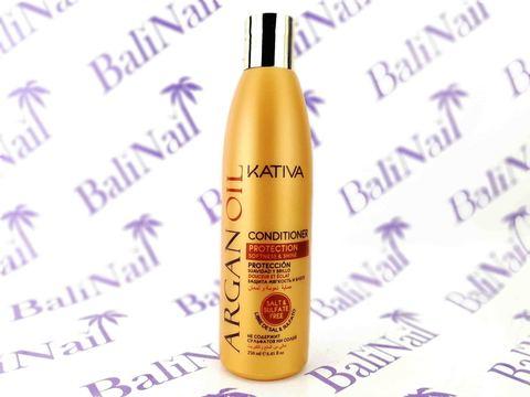Kativa ARGAN OIL Увлажняющий кондиционер для волос с маслом Арганы, 250 мл