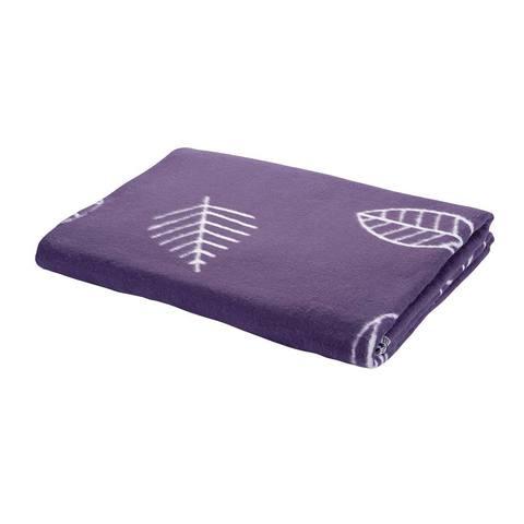 Одеяло байковое Листья черничные