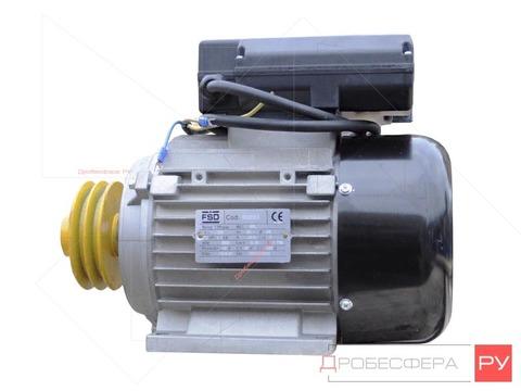 Электродвигатель со шкивом К12