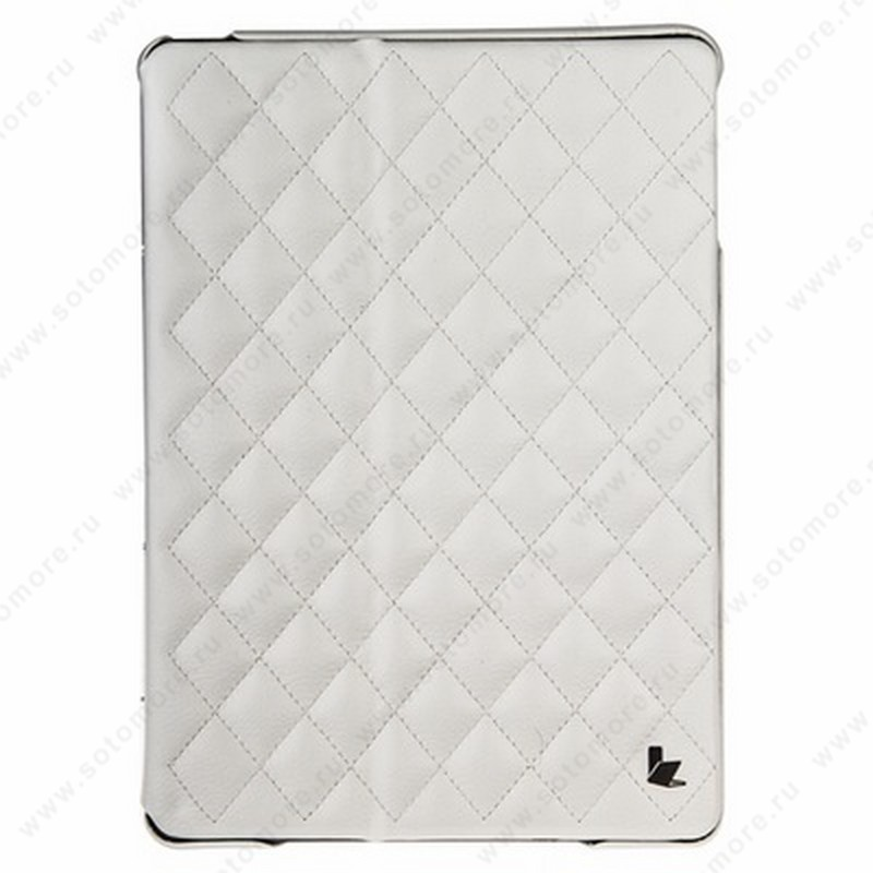 Чехол-книжка Jisoncase для Apple iPad Apple iPad Air 1 со стеганым узором белый JS-ID5-02H00