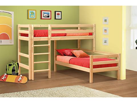 Двухъярусная кровать Мезонин 81