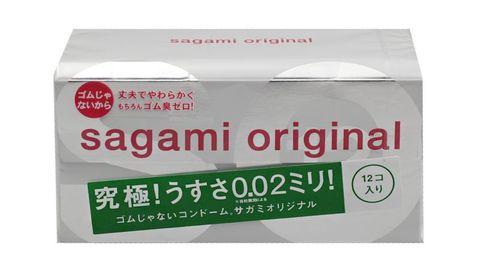 Ультратонкие презервативы Sagami Original - 12 шт.