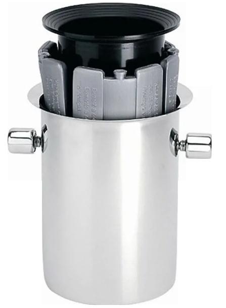 SEAU EQULIBREUR - Ведро для охлаждения шампанского 19 см нерж.сталь (champagne bucket)