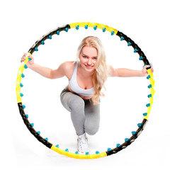 Массажный обруч с 80 силиконовыми шариками с магнитами