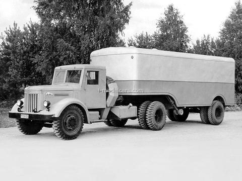 MAZ-200B tractor unit 1:43 Start Scale Models (SSM)