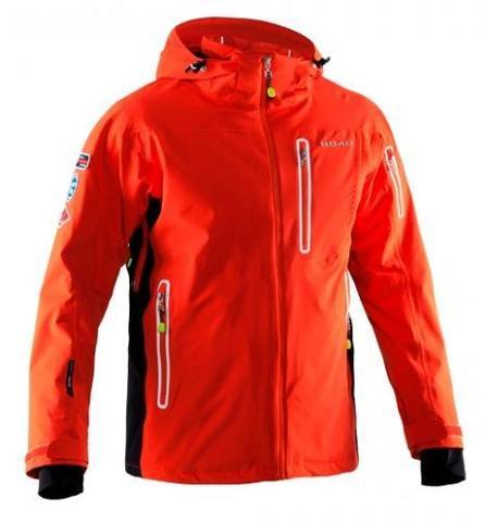 Мужская горнолыжная куртка 8848 Altitude Hinault (neon red)