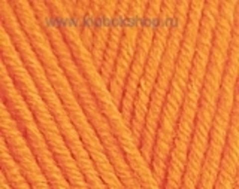 Пряжа Cotton BABY SOFT Alize оранжевый 37