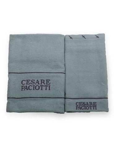 Набор полотенец 2 шт Cesare Paciotti Celebration зеленый