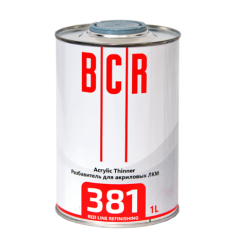 381 Разбавитель BCR RED Line Acrylic Thinner 1L