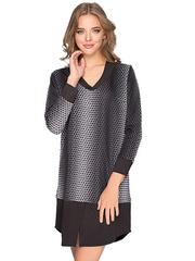 GDR010402 Платье женское, черно-белое