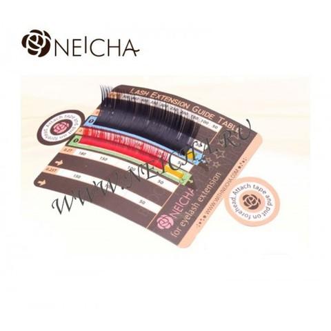 Палетка-гид для ресниц NEICHA