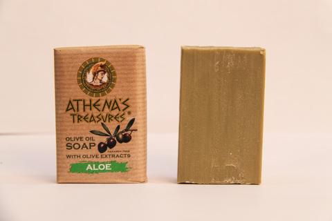 Оливковое мыло из Греции ATHENAS TREASURES
