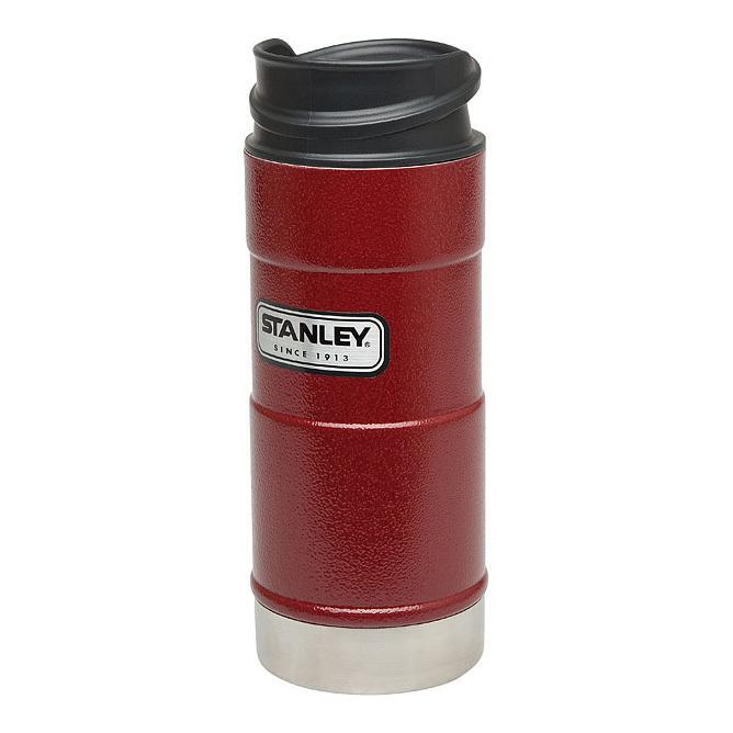 Термокружка Stanley Classic 1-Hand, красная, 350 мл