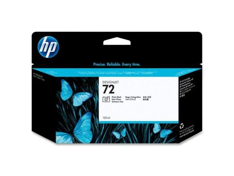 HP C9370A (№72) black (фото черный) картридж 130 мл