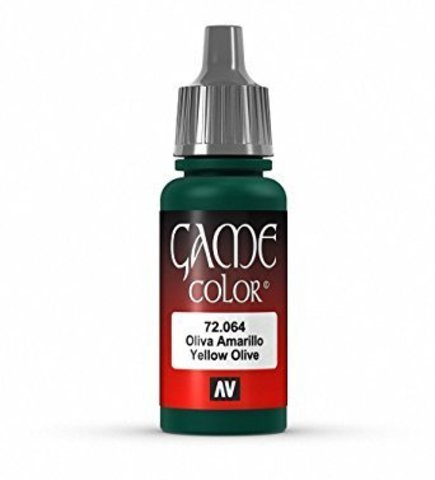Game Color Yellow Olive 17 ml.