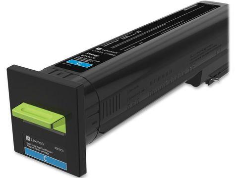 Картридж повышенной емкости для принтеров Lexmark CS820 голубой (cyan). Ресурс 22000 стр (72K5XC0)