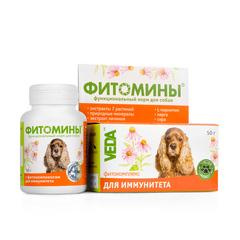 Фитомины для собак для иммунитета 50гр