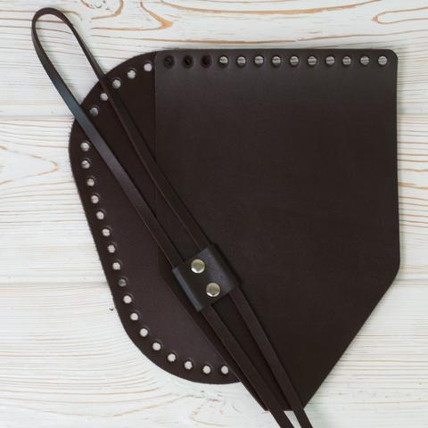 """Комплект для рюкзака """"Темно-коричневый"""""""