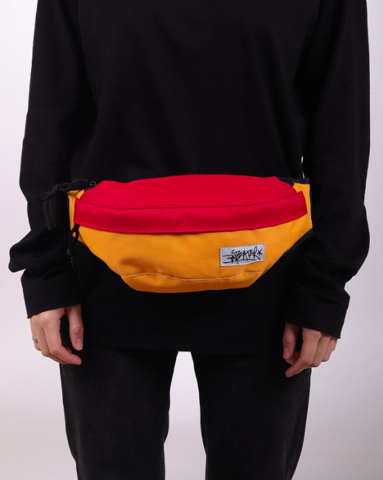 Сумка Anteater Minibag Red/Yellow