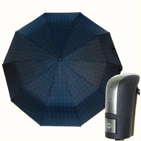 Зонтик ферре в крупную клетку, 10 спиц
