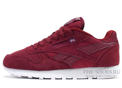 Кроссовки Женские Reebok Classic Leather Cherry Suede