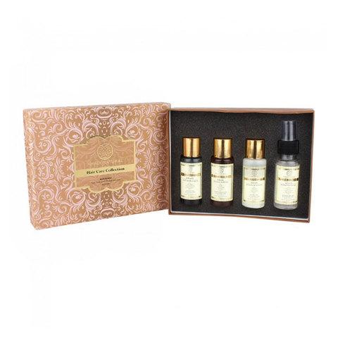 Подарочный набор средств для восстановления волос Khadi Natural - без парабенов и SLS, 4 средства по 50 мл