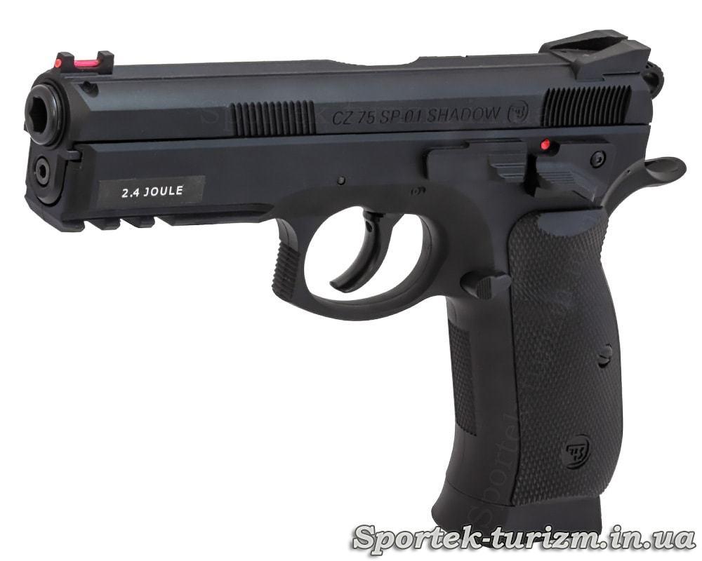 Пистолет пневматический ASG CZ 75 P-07 Duty 4.5мм, газобаллонный с металлическим корпусом