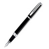 Waterman Exception - Night & Day Platinum ST, перьевая ручка, F