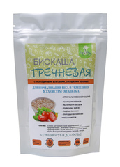 Биокаша Гречневая №16 с пророщенной гречкой, яблоком, ягодами, 220 гр. (Натурпродукт)