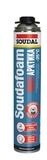 Пена монтажная пистолетная Соудафоам МАХI ARCTIC зимняя 870мл (12шт/кор)