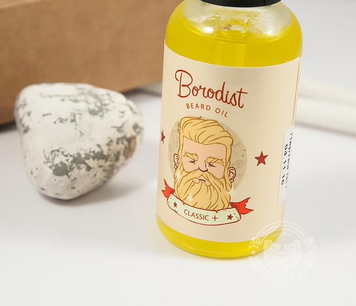 RAZ194-2 Улучшенное классическое масло для бороды «Borodist Classic +» с витаминами (30 мл) фото 04