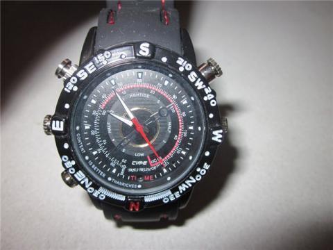 Шпионские часы HP/DVR Watch