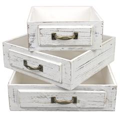 набор из 3-х кашпо «table box»