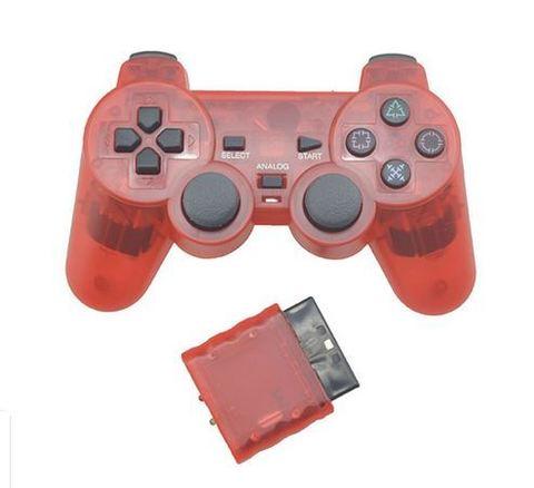 Sony PS2 Контроллер игровой беспроводной (красный, копия)