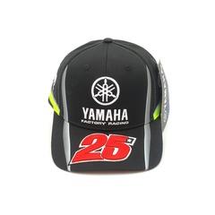 Кепка с вышитым логотипом Ямаха 25 (Кепка Yamaha 25) черная
