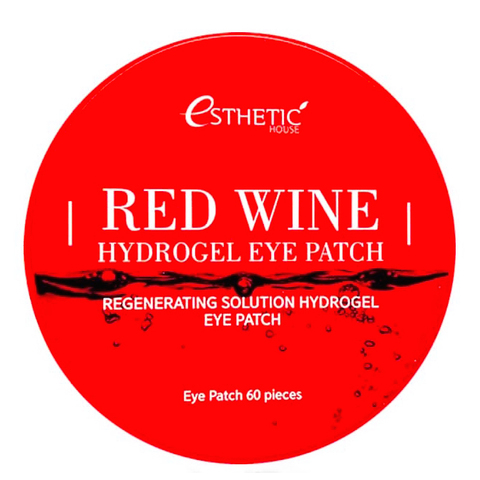 Esthetic House Red Wine Hydrogel Eye Patch
