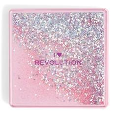 Палетка теней Makeup Revolution I Heart Makeup Glitter Palette, One True Love